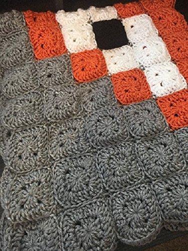 Crochet Fox Woodland Animal Baby Nursery Blanket