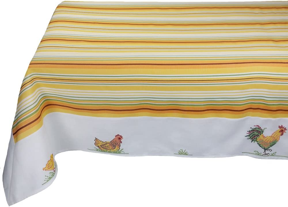 Xia Home trend rank Fashions Hens and overseas Embroidered Easter Tablecloth Chicks