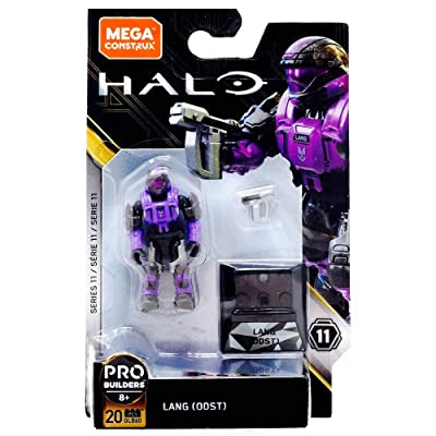 Mega Construx Halo Heroes Probuilder Series 11 Lang (ODST): Toys & Games