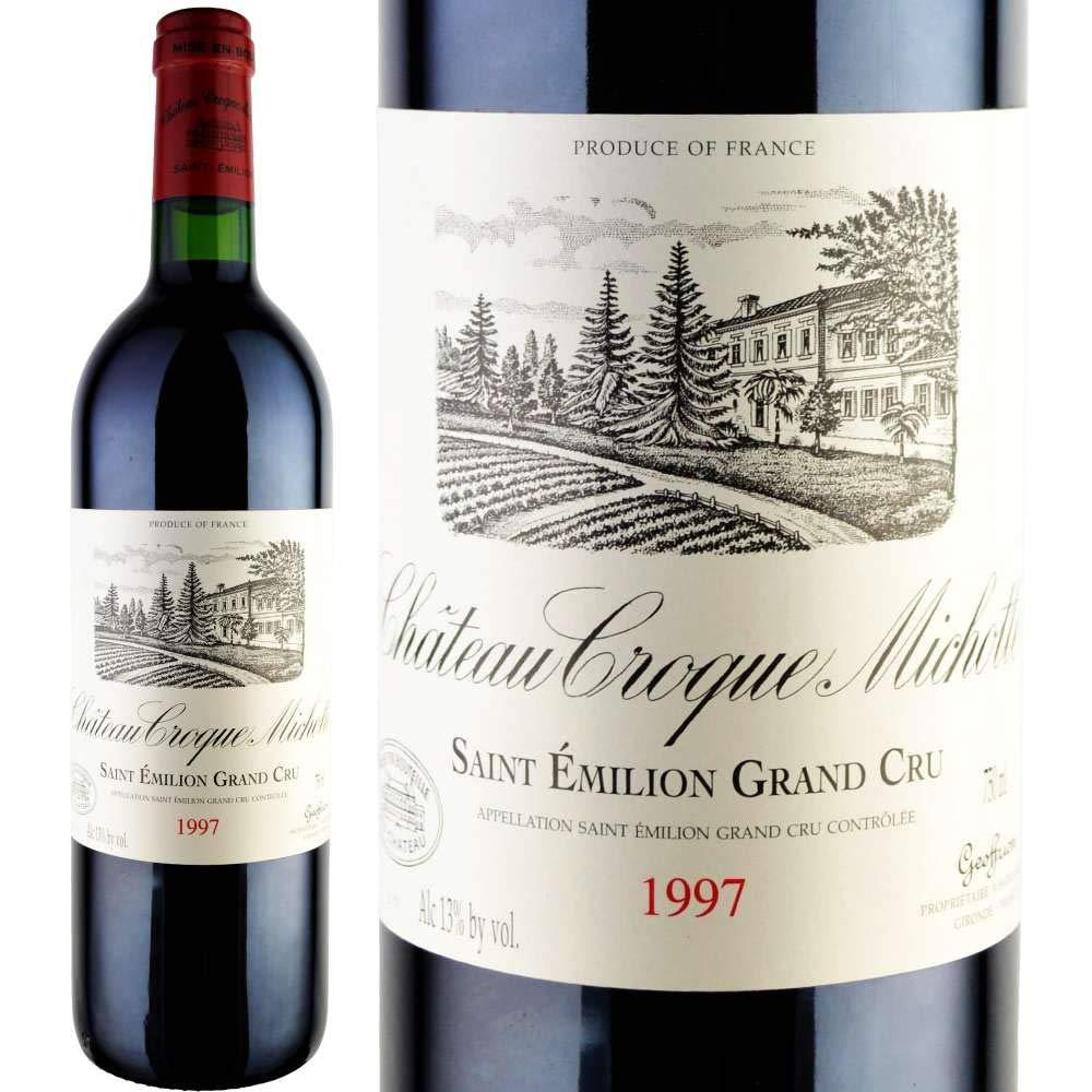 誕生日 生まれ年 プレゼント 1997年 ワイン シャトークロックミショット 750ml [正規輸入品] B07HGG36JK