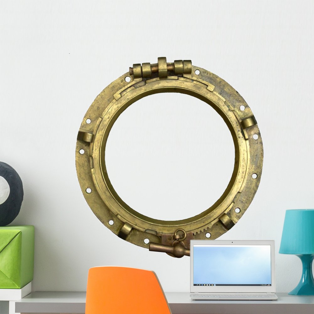 Wallmonkeys Porthole Wall Decal Peel and Stick Graphic (24 in H x 23 in W) WM184196