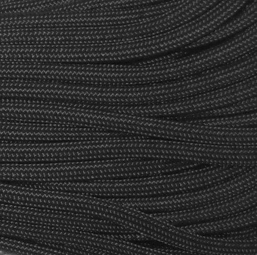 Black 550LB Military 100% Nylon Parachute Cord 100 Feet by Army Universe (Image #2)