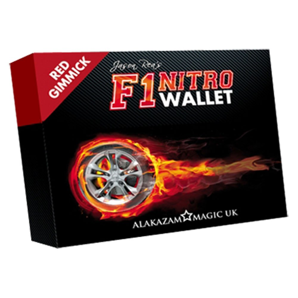 MMS F1 Nitro Wallet Blue (DVD and Gimmick) by Jason Rea - DVD by MMS