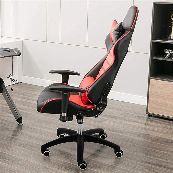 Fauteuil Haut Retour ergonomique de jeu Chaise réglable