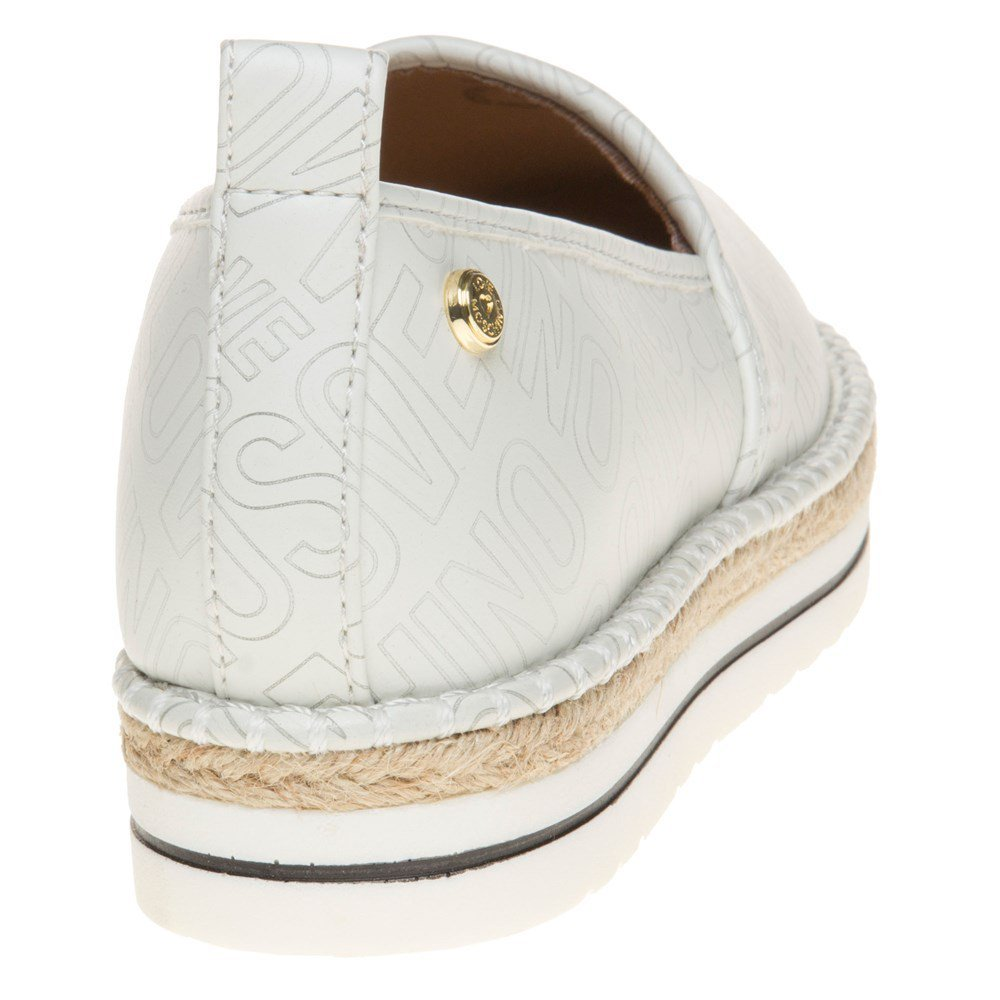 Love Moschino Espadrille Slip On Womens Shoes White by Love Moschino (Image #3)