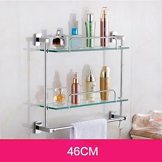 Badezimmer Regal Badezimmer-Glas-Regal, Badezimmer-Regal ...