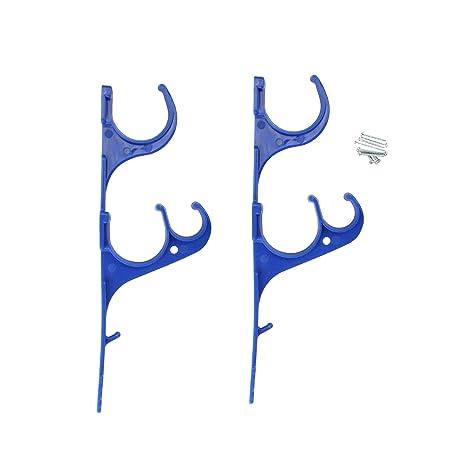Amazon.com: Pack de 2 hydrotools 3-Hook telepole, skimmer y ...