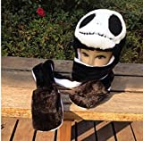 Jack Skellington KIDS Plush Hat with Gloves -Ship from USA-