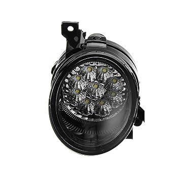 Carro Lado Izquierdo del Coche LED Foglight Luces de conducción de Repuesto para 1KD941699 Jetta MK5 2005-2009 Autos: Amazon.es: Coche y moto