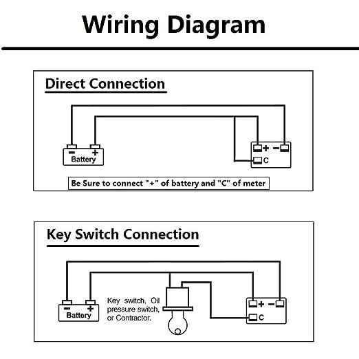 36v golf cart led battery status indicator meter gauge for ezgo 1998 ez go  wiring diagram 36v battery indicator wiring diagram