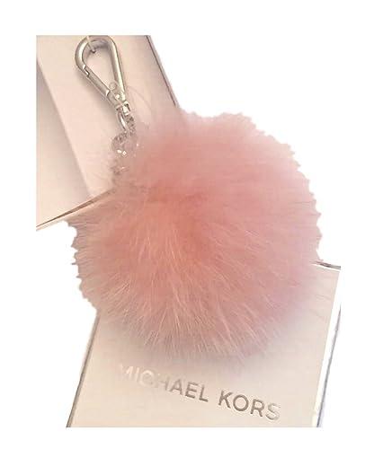 db8654c3f1f2e Amazon.com  Michael Kors Fur Pom Pom Key Fob Bag Charm  Shoes