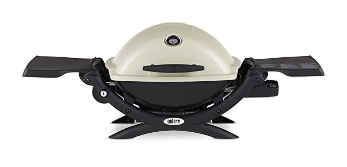 Weber Q1200 Liquid Propane Grill – Best High-End Camping Grill​
