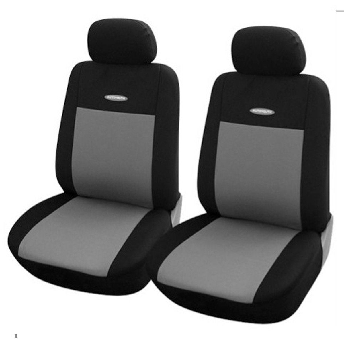 Grey Car Seat Covers Universal Fit Polyester 3MM Composite Sponge Car Styling Lada Car Covers Seat Cover Accessories