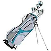 GolfGirl FWS3 Ladies Petite Complete All Graphite Golf Clubs Set w/ Stand Bag