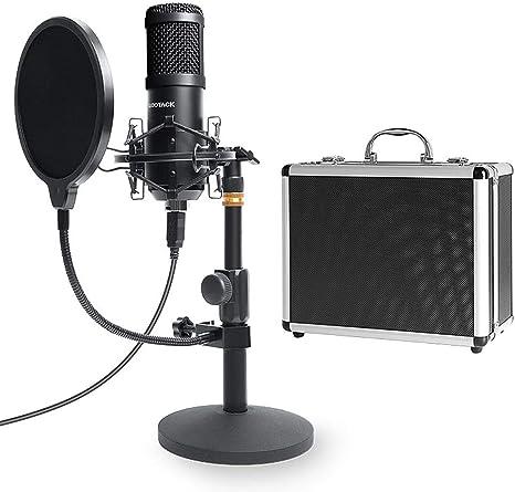 Amazon.com: SUDOTACK - Micrófono de PC Podcast con funda de ...