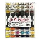 Dr. Ph. Martin's 800943-XXX Spectralite Private Collection Liquid Acrylics Bottles, 0.5 oz, Set of 12 (Set 3)