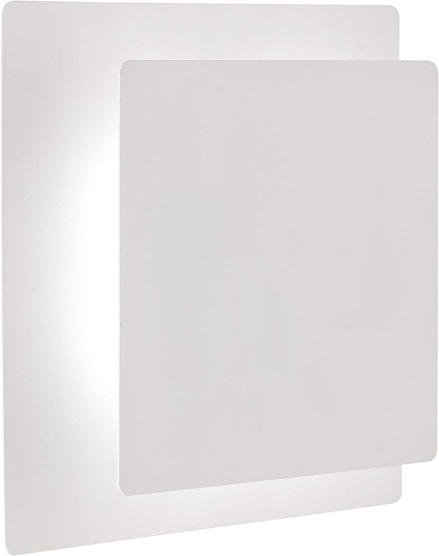 Action by WOFI FEY - Aplique de pared, acrílico, 6 W, color blanco: Amazon.es: Hogar