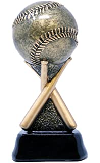 Amazon.com : Decade Awards Baseball Gold Star Resin Trophy ...