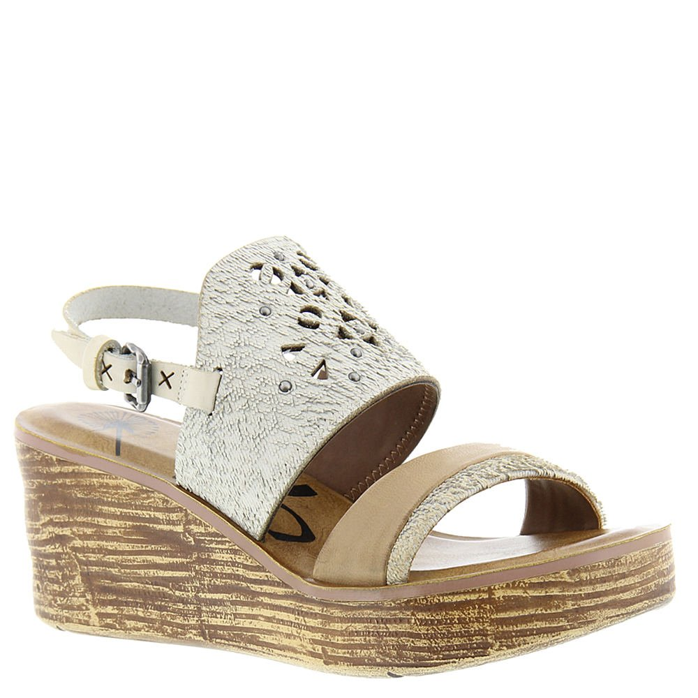 OTBT Women's Hippie Wedge Sandal B06XGG2VYF 8 B(M) US|White-grey