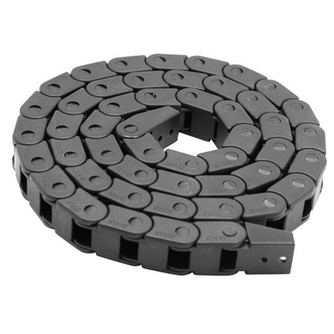 Fevas 1Pc 7 x 15mm 715mm L1000mm Cable Drag Chain Wire Carrier with End Connectors for CNC Router Machine Tools