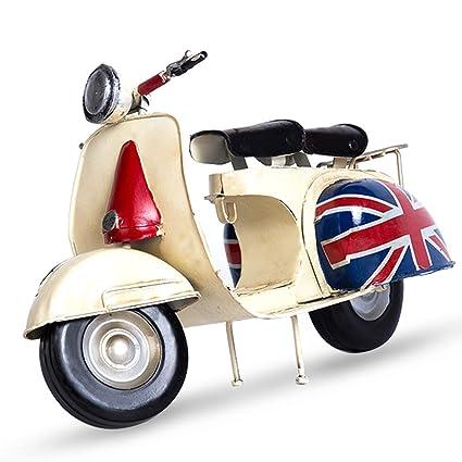Amazon Com Mydears Mini Pedal Motorcycle Model Roman Holiday Metal