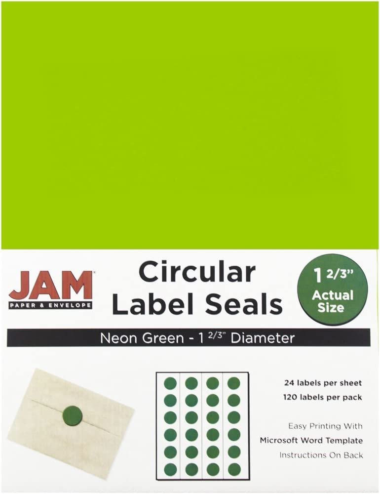 """Custom Labels Printed 2/"""" x 4/""""  Rectangle Business Stickers 1,000 1-Color seals"""