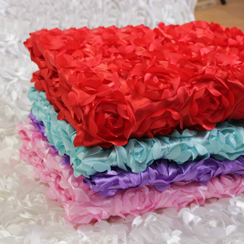 Baby Photography Props 3D Stereo Rose Flower Blanket 140 * 97 Cotton Spandex Baby Rayon Wraps Stretch Knit Wrap Newborn Photo Props Hemore