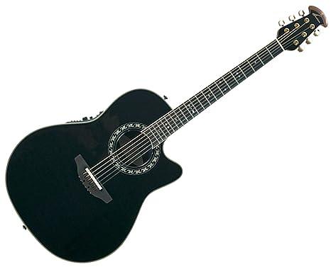 Ovation leyenda 2077 AX Deep contorno Electroacústica guitarra