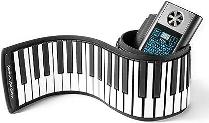 Percusión Bluetooth Piano Viajes teclados Midi 61 Clave de la ...