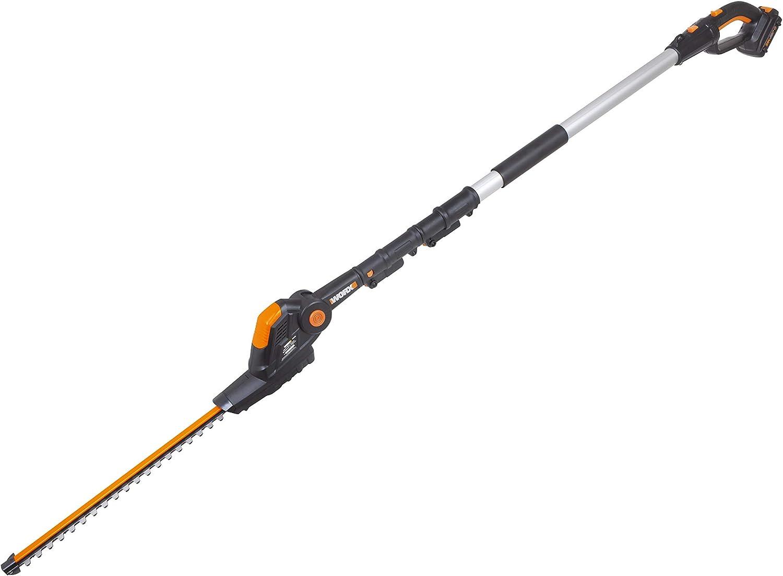 2 BATTERIES 20V WORX WG284E.9 Hedge trimmer battery powered N 20 V DO NOT