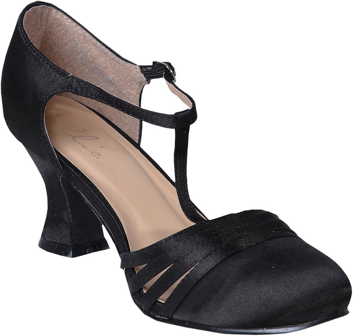 Women's Sexy Black Shoes 2.5 Inch Heel
