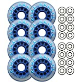 BLUE BELLYS 76mm 78a Roller Inline Skate Wheels ABEC 9s