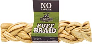Redbarn Puff Braid Large Dog Treat (Pack of 1)