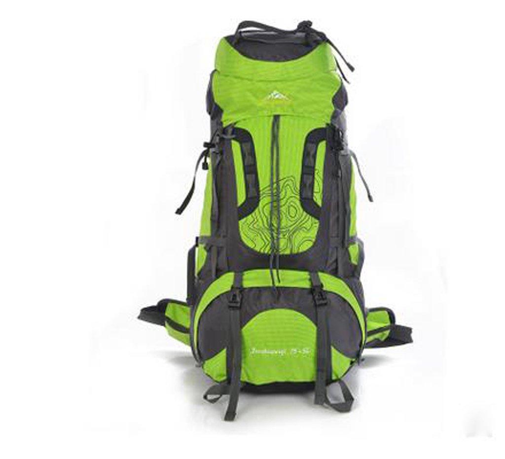 Bergsteigen Beutel gro?e Kapazit?t 75L atmungsaktive, wasserdichte Wander Camping Rucksack Aufh?ngung spezielle Umh?ngetasche