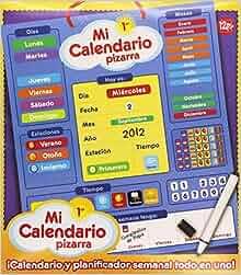 MI PRIMER CALENDARIO PIZARRA: 8436026775165: Amazon.com: Books