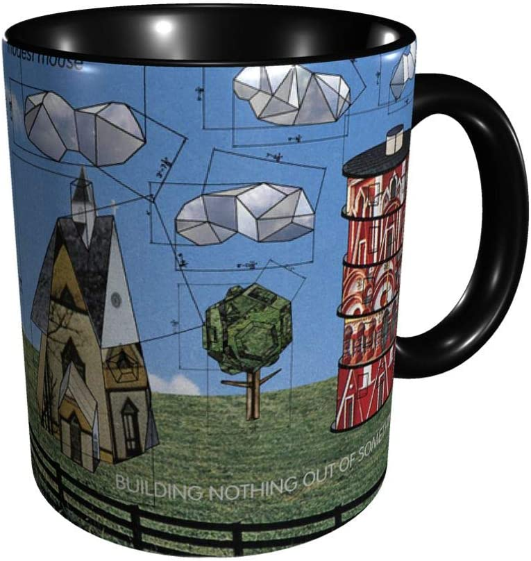 Modest Mouse Building Nothing Out Of Something Mug Double-Sided Funny Printed Ceramic Coffee Cup Tea Cup Wine Mugs For Office And Home