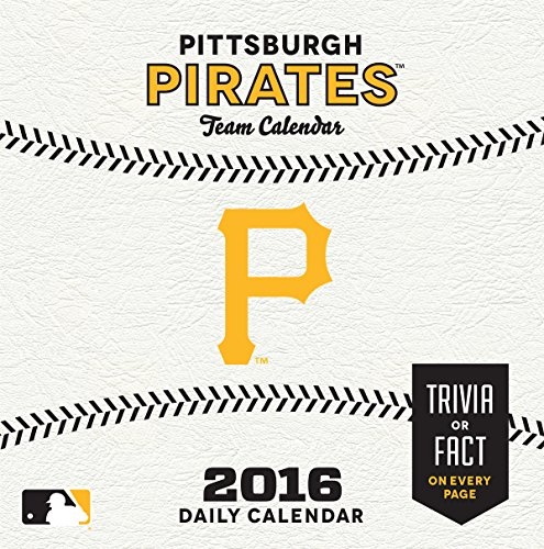 Turner Pittsburgh Pirates 2016 Box Calendar, January-December (8051413)
