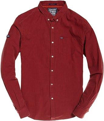 Superdry Mens Ultimate University Oxford Long Sleeve Shirt