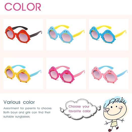 Amazon.com: VanSP - Gafas de sol para niños, diseño de ...
