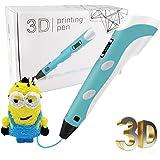 Standard 3D Printing Pen-TUBOSS 3D Doodler Pen Arts Pen Making Doodle 3D Pencil for 3D Arts & Crafts Drawing and Doodling for Kids(Blue)