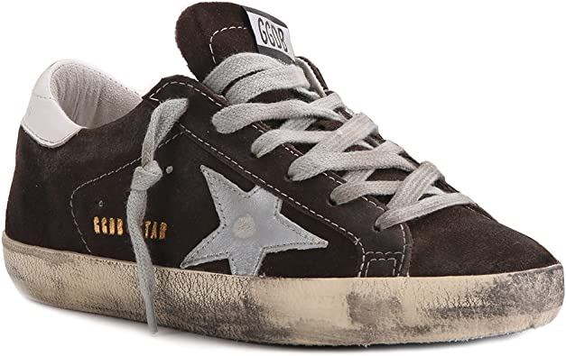Sneaker Superstar Brown SZ 35