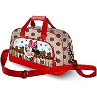 Karactermania Minnie Mouse Muffin-Pocket Sports Bag Sac de Sport Enfant, 45 cm, Marron (Brown)