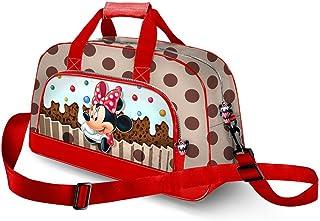 Karactermania Minnie Mouse Muffin-Pocket Sports Bag Borsa sportiva per bambini, 45 cm, Marrone (Brown)