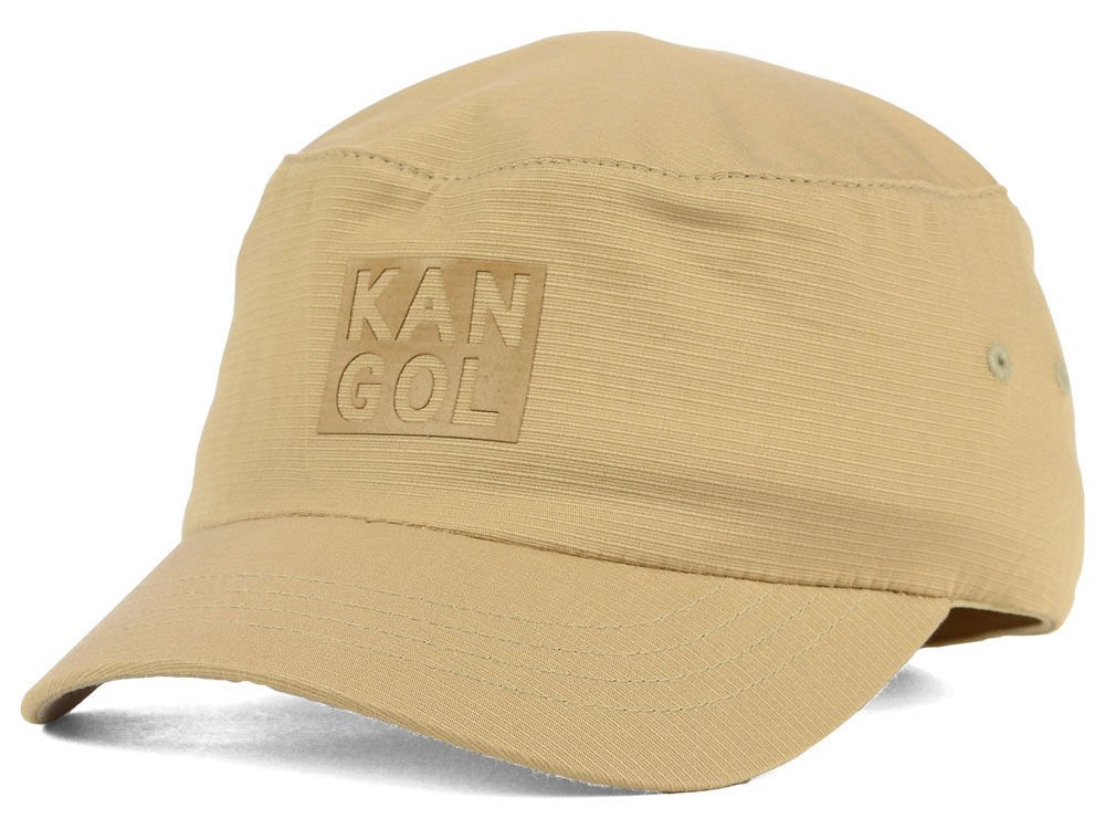 Amazon.com  Kangol Tone Tan Flex Military Cadet Hat Large X-Large  Sports    Outdoors c453213ff3f