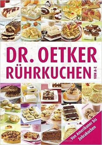 Ruhrkuchen Von A Z Amazon De Dr Oetker Bucher