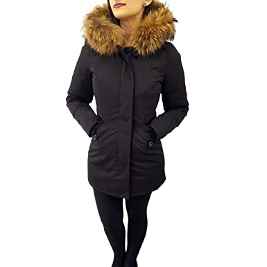 Attentif Paris Parka Real Fur Ladies Jacket Womens Coat