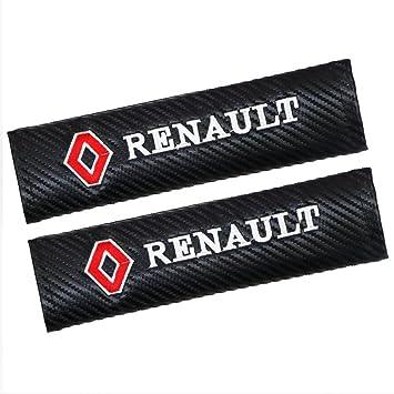 missperfect RENAULT Cars Embroidered Badge Comfortable Seat Belt Shoulder Pad Cover Velcro Opening Jinbu 1 Pair