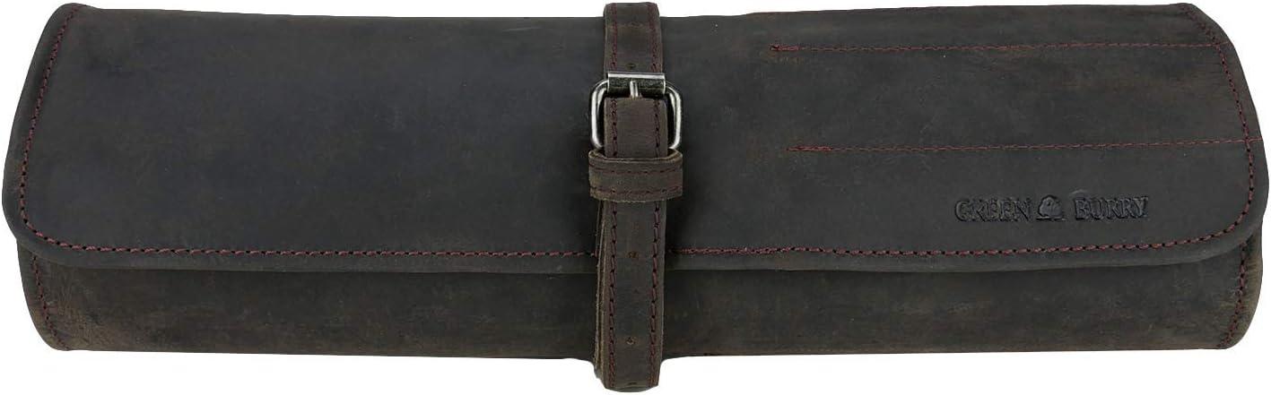 GreenBurry Werkzeugrolle 73 x 33 cm Rind-Leder Werkzeugtasche 1690