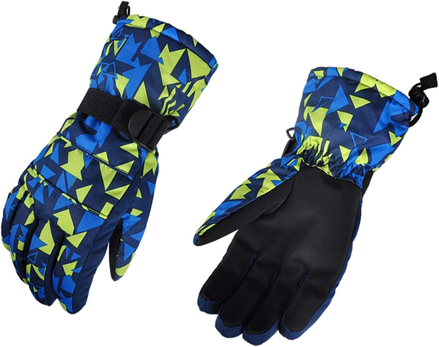 Women Winter Ski Gloves Windproof Waterproof Thick Biking Hand Warmers
