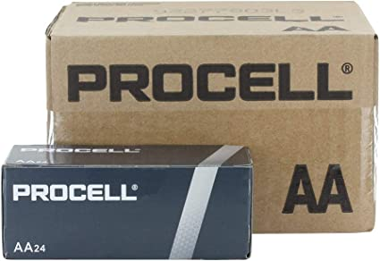 Duracell Procell – Caja de pilas AA alcalinas batería – -144 per caso.: Amazon.es: Oficina y papelería
